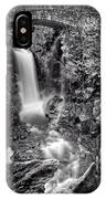 Christine Falls, Mt Rainier National Park IPhone Case