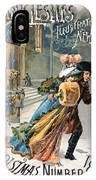 Christmas, 1890 IPhone Case