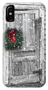 Christmas At The Farm IPhone Case