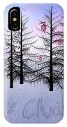 Christmas Bare Trees IPhone Case