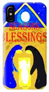 Christmas Blessings 5 IPhone Case