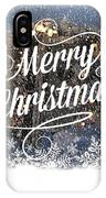 Christmas Blizzard IPhone Case