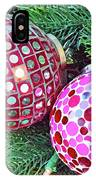 Christmas Dots No. 1-1 IPhone Case