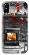 Christmas Eve Magic IPhone Case