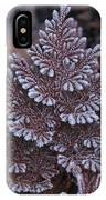 Christmas Frosty Pattern IPhone Case