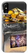 Christmas Golden Gift  IPhone Case