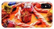 Christmas Holiday Background IPhone Case