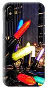 Christmas In Manhattan IPhone Case