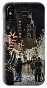 Christmas In Nyc IPhone Case