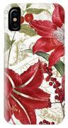Christmas In Paris I IPhone Case
