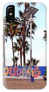 Christmas In Venice Beach IPhone Case