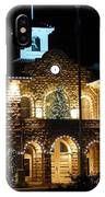 Christmas Lights In Sonoma, California IPhone Case