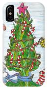 Christmas Of The Sea Tree IPhone Case