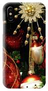 Christmas Ornaments 1 IPhone Case