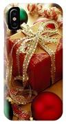 Christmas Present And Ornaments IPhone Case