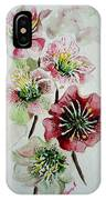 Christmas Rose IPhone Case