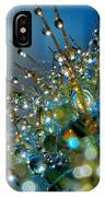 Christmas Tree Made Of Cactus And Water Drops IPhone Case