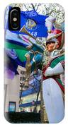 Christmas Trumpeter At The Rock IPhone Case