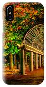 Christopher Columbus Park 3766 IPhone Case