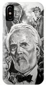 Christopher Lee IPhone Case