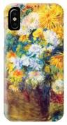 Chrysan The Mums 1882 IPhone Case