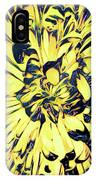 Chrysanthemum Pop IPhone Case