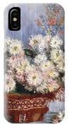 Chrysanthemums, 1878  IPhone Case
