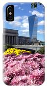 Chrysanthemums And Cirrus  IPhone Case