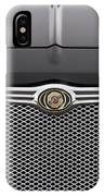 Chrysler 300 Logo And Grill IPhone Case
