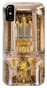 Church Altar Inside Palace Of Versailles IPhone Case