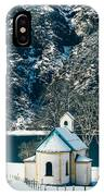 Church By The Achensee IPhone Case