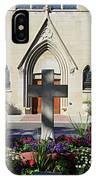 Church Entrance Cross IPhone Case