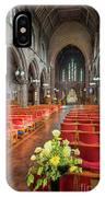 Church Flowers IPhone X Case