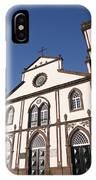 Church In Azores Islands IPhone Case
