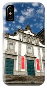 Church In Ribeira Grande IPhone Case