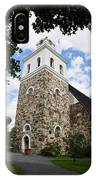 Church Of The Holy Cross At Rauma IPhone Case