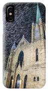 Church Snowstorm IPhone Case
