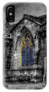 Church Windows IPhone Case