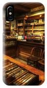 Cigar Shop IPhone Case