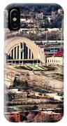 Cincinnati Union Terminal IPhone Case