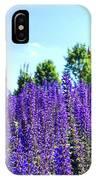 Cincy Flower Field IPhone Case