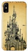 Cinderella Castle Patent IPhone Case