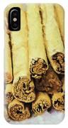 Cinnamon Sticks IPhone Case