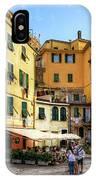 Cinque Terre - Vernazza Main Street IPhone Case