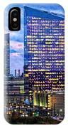 Cira Centre Skyline At Dusk IPhone Case
