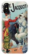 Cirage Jacquot And Cie - Vintage French Advertising Poster IPhone Case