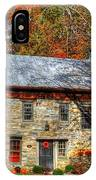 Circa 1776 Stone House IPhone Case