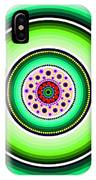 Circle Motif 229 IPhone Case