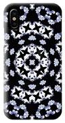 Circle Of Stars And Flowers IPhone Case