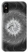 Circular Abstract Art 7 IPhone Case